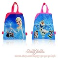 2pcs Elsa Olaf Drawstring Backpack Bags 34*27CM Non-Woven Fabric Multipurpose Bags for Kids School Party Gifts,School Furniture