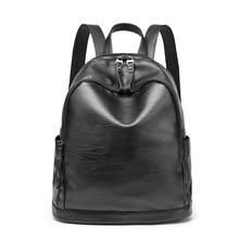 2017 Для женщин мягкая Пояса из натуральной кожи Рюкзак Vintage школа Рюкзаки для подростков Обувь для девочек женские сумки на плечо Высокое качество Новый C238