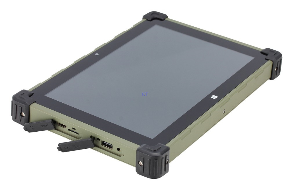 2017 China Industrial Rugged Tablet PC Metal Case Windows 10 Ubuntu MINI PC Z3735F Quad Core