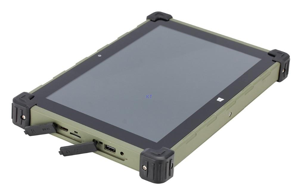 2017 China Rugged Industrial Tablet PC Metal Case Windows 10 Ubuntu MINI PC Z3735F Quad Core 10.1