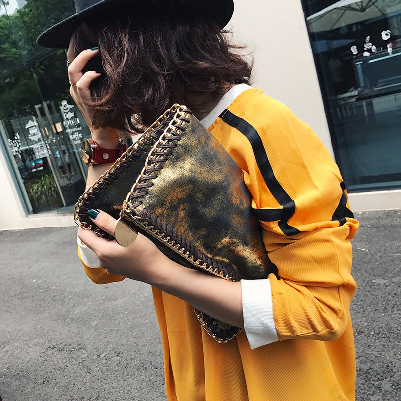 Fashion shiny women clutch bag chain Shoulder bag for female Crossbody Bags Luxury brand design party evening bags lady Clutches стоимость