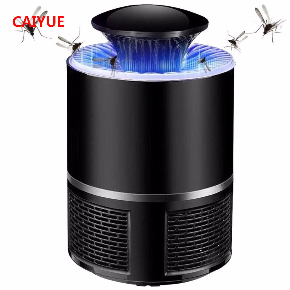 Learned Electric Mosquito Killer Lamp Led Bug Zapper Anti Mosquito Killer Lamp Insect Trap Lamp Killer Home Living Room Pest Control Security & Protection