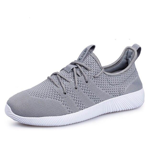 796eb8d4b Sapatos Homem 2018 Marca Verão Designer Sapatos Masculinos Tenis Masculino  Respirável Sapatos Casuais de Alta Qualidade