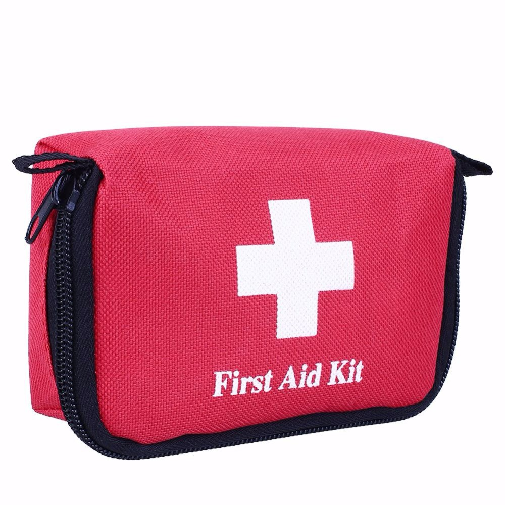 Portable Empty First Aid Bag Kit Pouch Outdoor Home Medical Emergency Travel Rescue Case Bag Medical Package