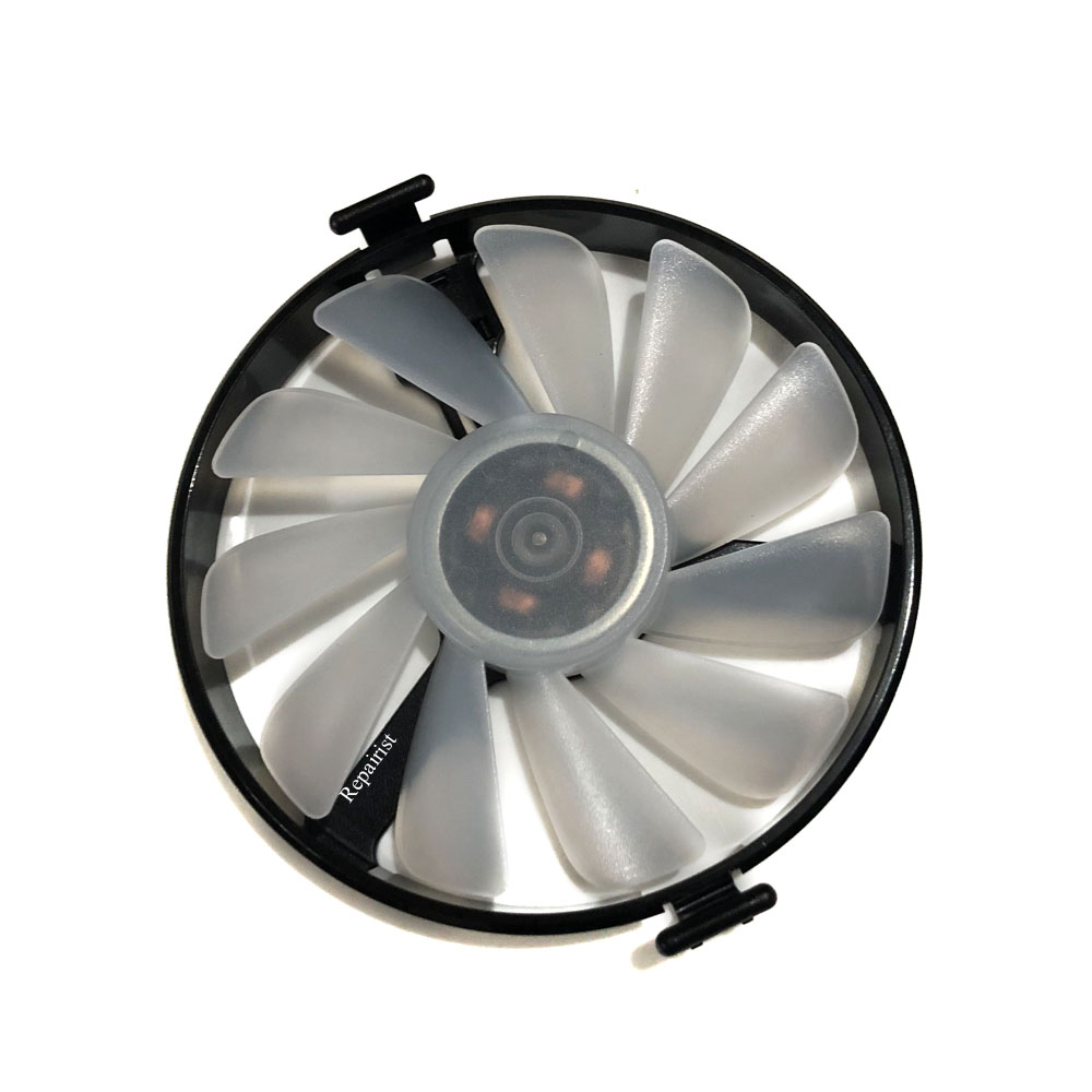 XFX Hard Swap Fans FDC10H12S9-C VGA GPU Cooler Fan For XFX RX580 GTR RX480 RS Grahics Card Cooling As Replacement