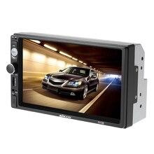 7 дюймов Универсальный 2 DIN HD Bluetooth Автомобильный Радио MP5 мультимедийный плеер Радио Развлечения USB/TF FM AUX Вход