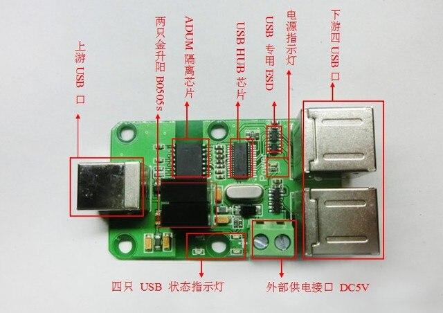 USB HUB USB isolation plate isolator isolator ADUM4160/ADUM3160