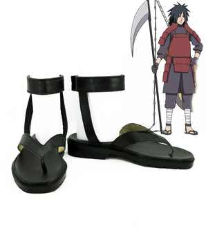 Japan anime Naruto Cosplay Shoes Uchiha Madara Anime Boots Tailor Made - DISCOUNT ITEM  19% OFF All Category