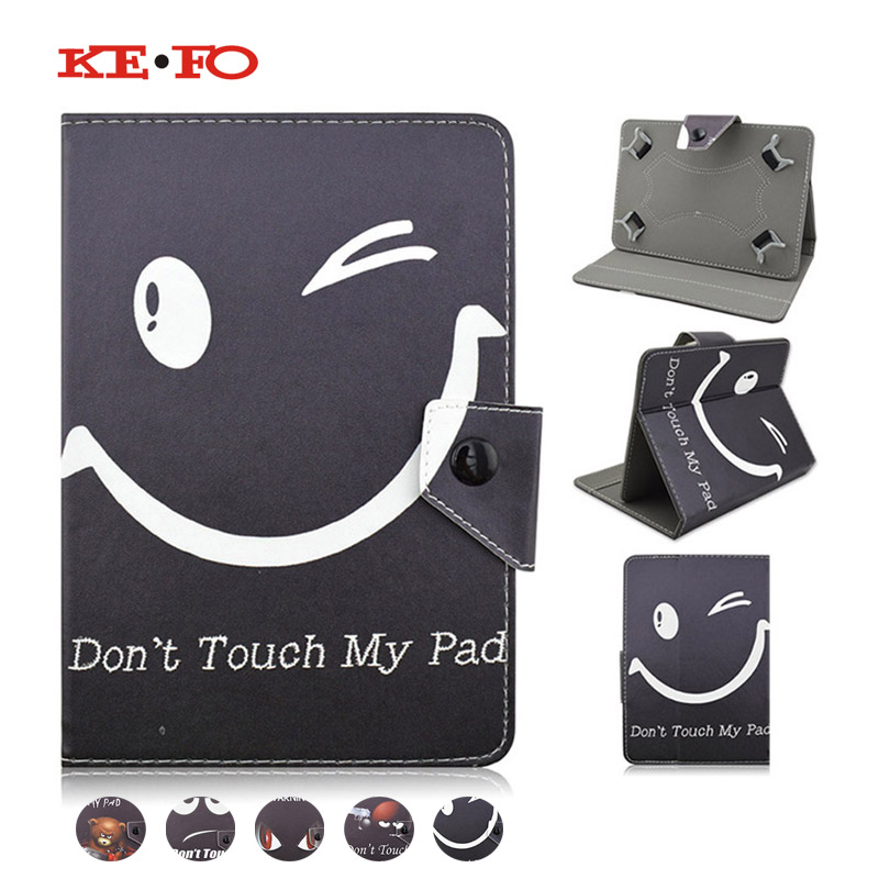 Leather Cover Case For Samsung Galaxy TAB 2 10.1 P5100/P5110 10.1 inch Universal Tablet cases+Center Film+pen KF4A92