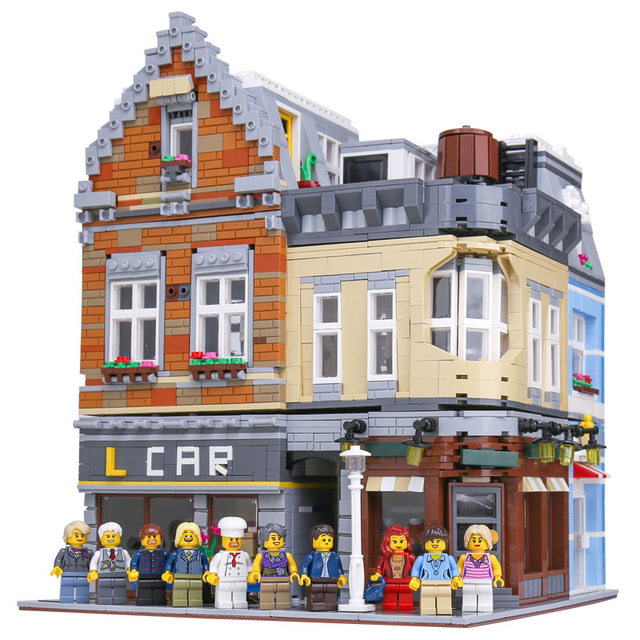Lepin 15034 4210Pcs MOC Series The New Building City Set Building Blocks Bricks Educational Toys Model As Boy`s Gifts садовый совок truper ggtl tr 15034