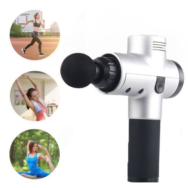 Muscle relaxation Massager Handheld Rechargeable Percussive machine Massage Muscle Fascia Gun Deep Vibrating Therapy for Booster