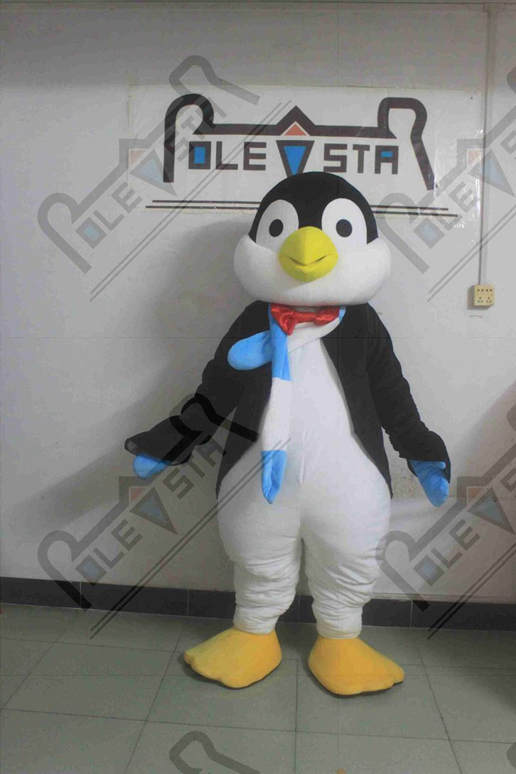 character penguin mascot costumes penguin costumes for party hot sale warm scarf Polar animal costumes