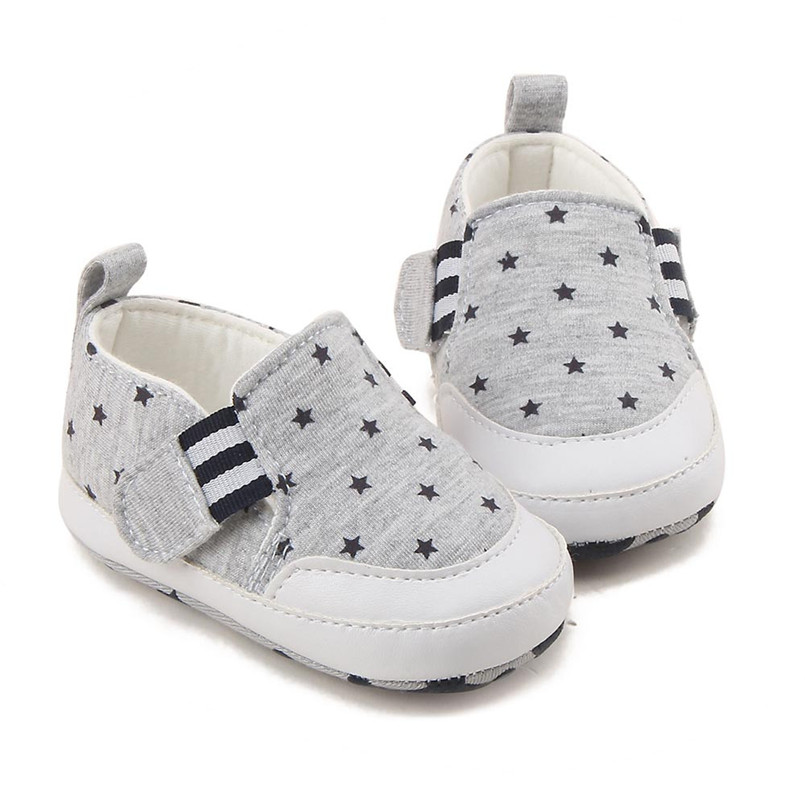 Baby shoes 2019 new Newborn Infant Baby Girl Boy Print Crib Shoes Soft Sole Anti-slip Sneakers Shoes #4M14 (9)