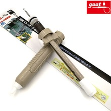 Japan GOOT GS-100 Desoldering Pump Jumbo Size Self-Cleaning Plunger Lock Function Manual Solder Sucker Light Strong Repair Tools