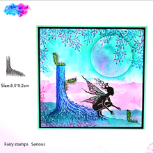 fairy tree root Transparent Clear Silicone Stamp Seal for DIY scrapbooking photo album Decorative clear stamps