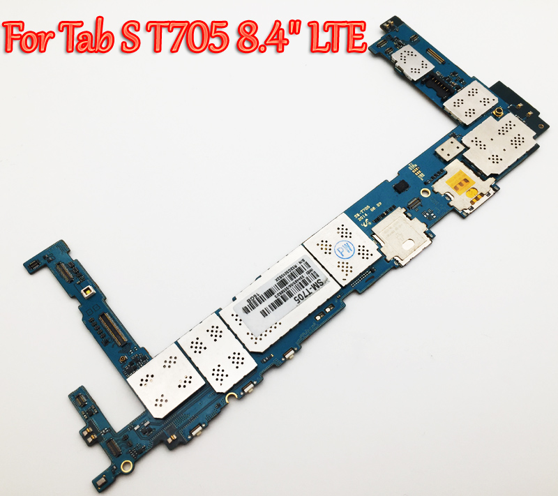 Tested Full Work Unlock Motherboard For Samsung Galaxy Tab S T705 8 4 LTE Logic Circuit