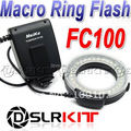 FC100 Meike FC-100 Macro Anillo Flash/Luz para Canon EOS 650D 600D 60D 7D 550D 1100D T4i T3i T3