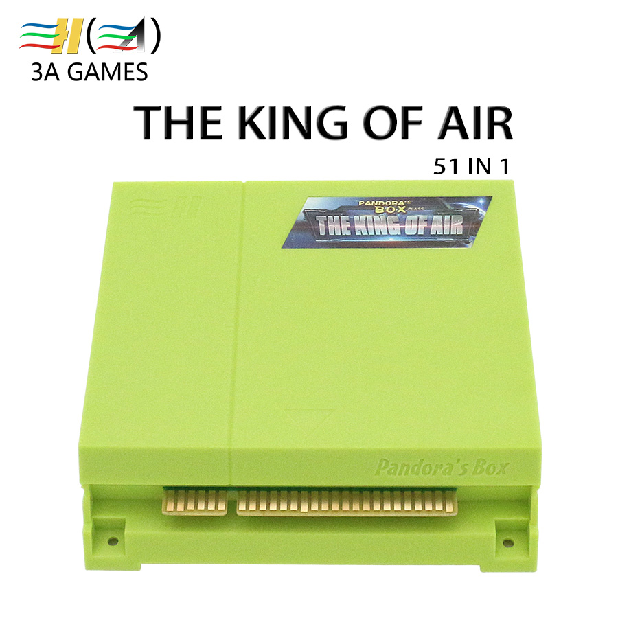 51 in 1 Jamma Multi Game Board Pandora's Box Class The King of Air CGA VGA HD Flight Shooting Game for Vertical Arcade Cabinet 1 set of the house of dead 3 shooting game kit for shooting game simulator machine amusement firing game cga monitor cabinet
