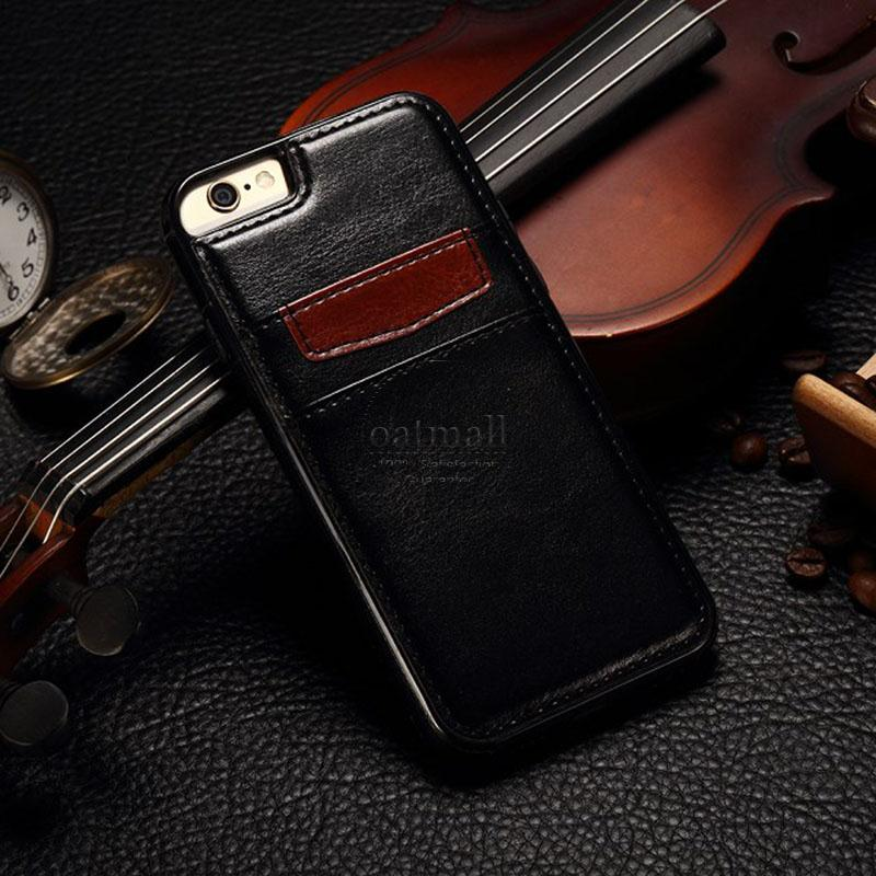 For Apple iPhone 8 Case Wallet Premium stand with photo Leather flip ...