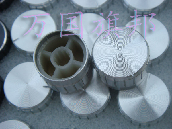 Free Delivery. Potentiometer Knob Aluminum Knob Silver Lace 17 Mm High 21 Mm 21 * 17 Mm Diameter