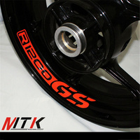 MTKRACING Seven Colors 8X CUSTOM INNER RIM DECALS WHEEL Reflective STICKERS STRIPES FIT BMW R1200GS R