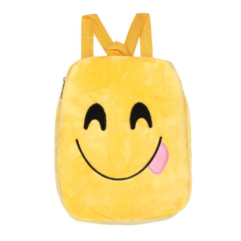 High Quality Backpacks Cute Emoji Emoticon Shoulder School Child Bag Backpack Satchel Rucksack For Teenage Mochila