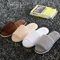 Мужчины Женская Обувь Домашние Тапочки Теплые Тапочки Хлопка Флис Долго Скрытой Потепление Самонаведения Тапочки, Крытый обувь