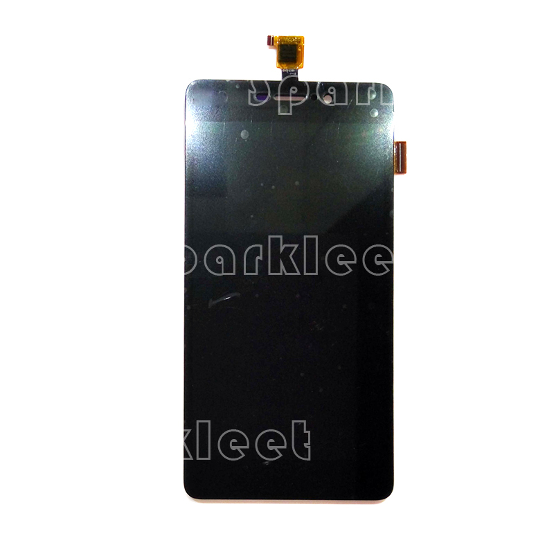 Black LCD Screen For Wiko Pulp Fab 4G LCD Display Touch Screen Digitizer Assembly Replacement, Free Shipping solid brass led swivel spout kitchen sink faucet pull out mixer tap chrome polished