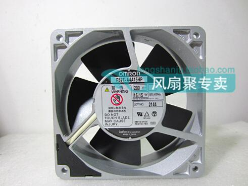 Wholesale: original R87T-A4A15HP 200V 12cm120*120*38 OMRON all metal cooling fan