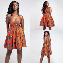 Женское винтажное платье в африканском стиле вечерние платья