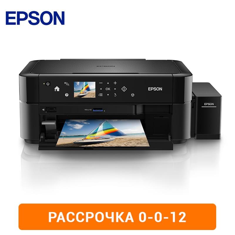 MFD Epson L850 printer printing factory 0-0-12 label sticker receipt printer barcode qr code small ticket bill pos printer support 20 80mm width print speed very fast