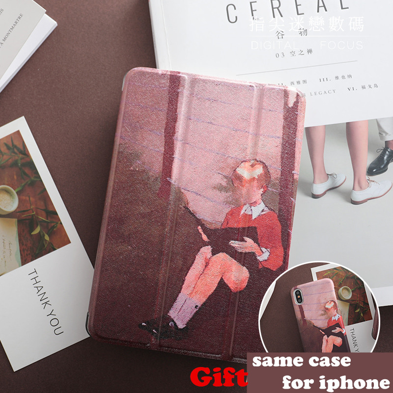 Book Boy Magnet PU Leather Case Flip Cover For iPad Pro 9.7 10.5 Air Air2 Mini 1 2 3 4 Tablet Case For New ipad 9.7 2017 IPAD4 personal magnet pu leather case flip cover for ipad pro 9 7 10 5 air air2 mini 1 2 3 4 tablet case for new ipad 9 7 2017 a1822