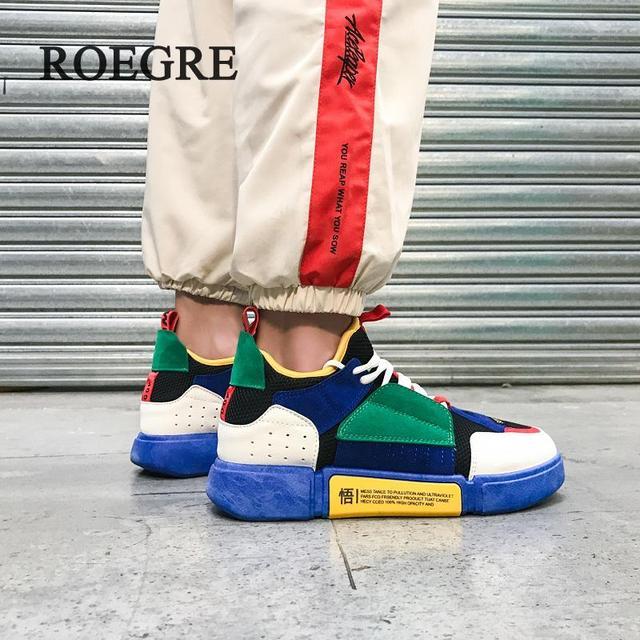 2018 Новый Обувь с дышащей сеткой летние Для мужчин повседневная обувь слипоны мужской моды прогулочная Обувь На Шнуровке унисекс Обувь для пары категории
