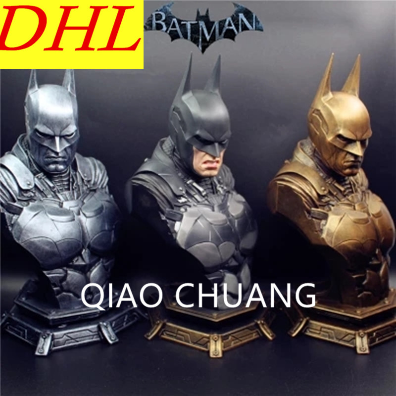 3 Colour Avengers:Infinity War Superhero Bruce Wayne Batman Arkham Knight 1/3 Colophony Crafts Bust Can Be Removable Nipple G869 batman detective comics volume 9 gordon at war