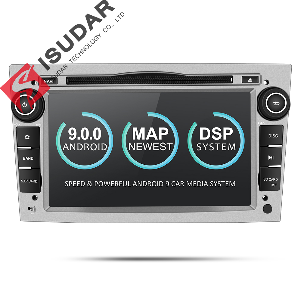 Isudar 2 Din Auto font b Radio b font Android 9 For For OPEL ASTRA Zafira