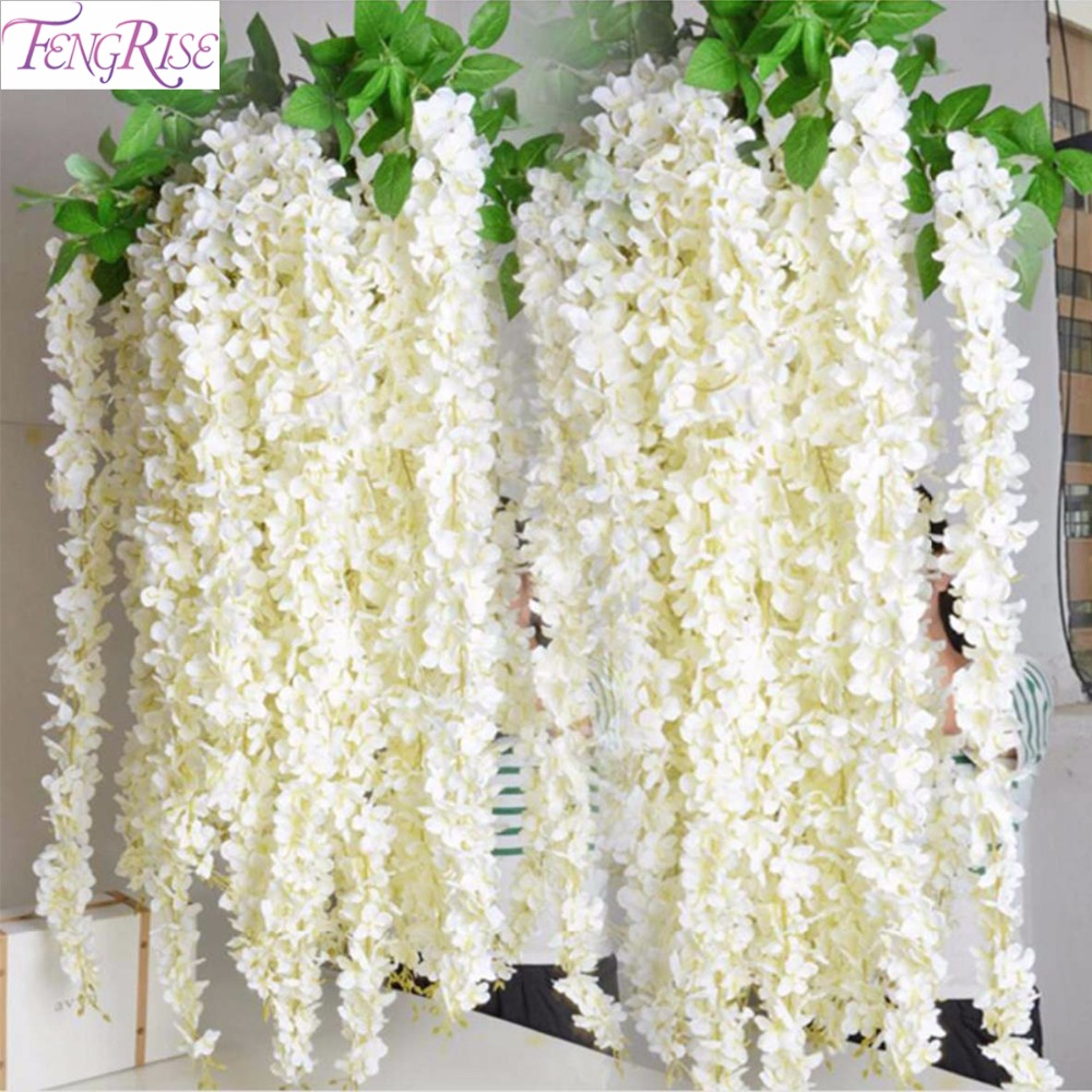 Fengrise Wedding Flower Decoration Event Rustic Wedding Decoration