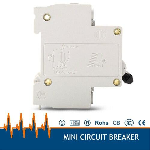 dz47 63 16a ac380v 3 fase mini disjuntor 04