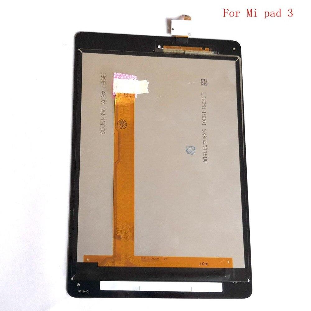 Pour Xiao mi pad 1 2 3 4 lcd écran tactile verre numériseur ensemble complet pour mi pad 1 2 3 4 lcd