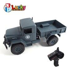 새로운 모델 2.4g 오프로드 강력한 등산 능력 rc 군사 트럭 원격 제어 자동차 wltoys rc 드리프트 uzaktan kumandali araba