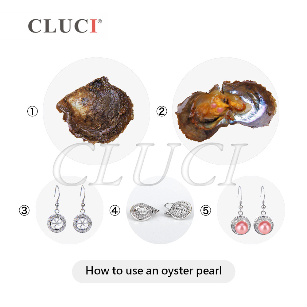 CLUCI Stunning Coral color akoya pearls  grade, 20 pearls in 10 PCS cultured oysters,  7-8mm  for NECKLACE MAKING