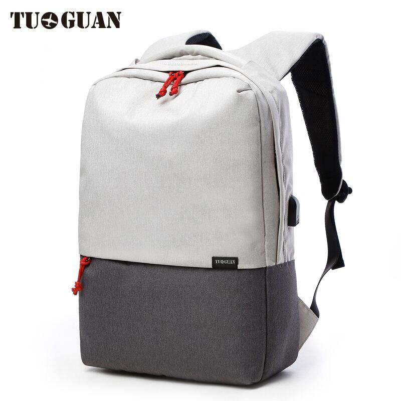 Бренд Для мужчин Водонепроницаемый зарядка через usb школьный рюкзак 15,6 дюйм(ов) ноутб ...