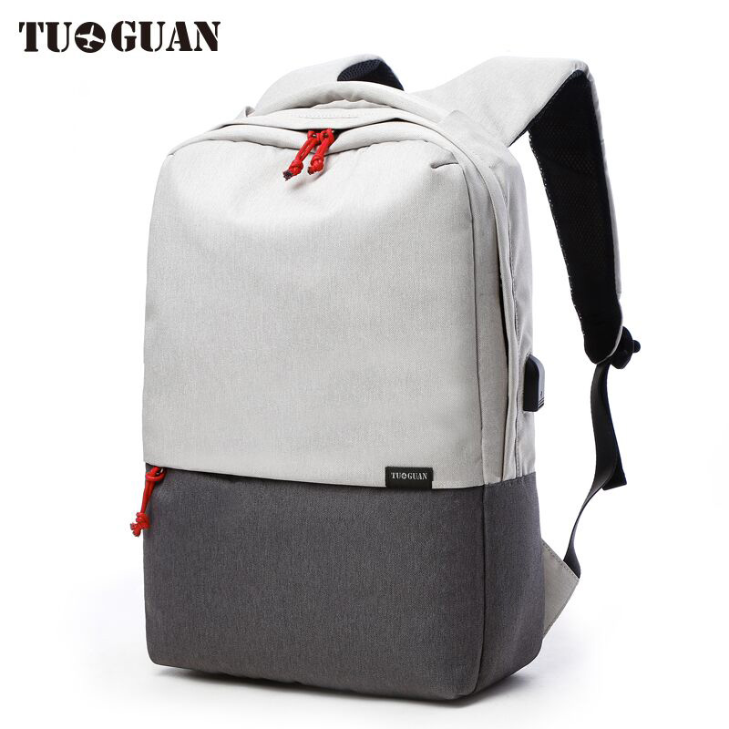 Brand Men Waterproof USB Charging School Backpack 15.6 inches Laptop Back Pack Travel Casual Women Bagpack Fashion Bookbag
