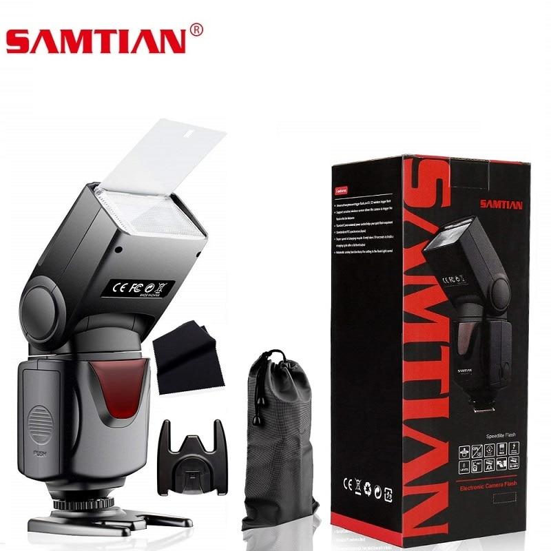 SAMTIAN T660 Wireless Camera Flash Speedlite Universal Speedlight For Canon Nikon Panasonic Olympus Pentax DSLR