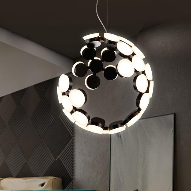Pendelleuchte Wohnzimmer   Kreative Designer Mond Led Pendelleuchte Wohnzimmer Schlafzimmer