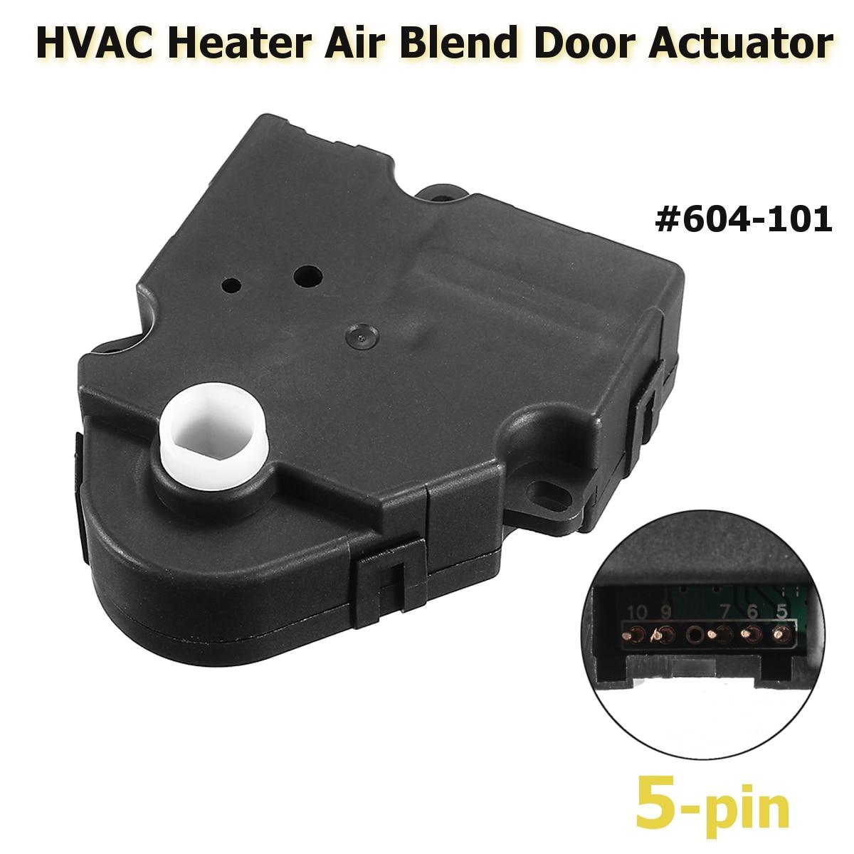 #604-101 HVAC Heater Air Blend Door Actuator For Cadillac/Chevrolet/GMC Escalade Silverado Yukon 1999 2000 2001 2002