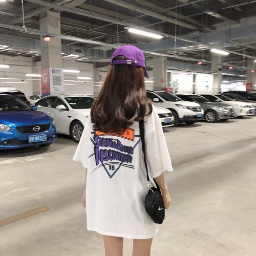 ALI shop ...  ... 32897253489 ... 3 ... Korean Ulzzang Chic Graphic Printed Old School Style Oversized All Match Women Tee Tops Girl T-shirts ...