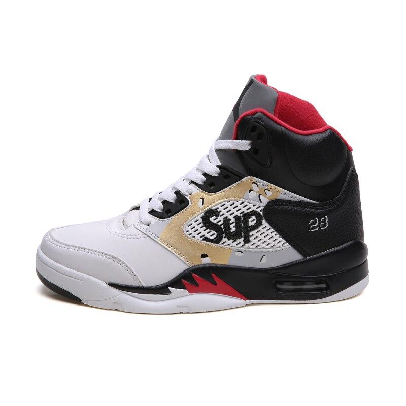 finest selection 75052 66107 2019 basketball shoes+male uptempo spor ayakkabi bayan kyrie 5 krampon  sneakers men jordan 5