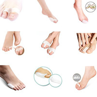 Bunion Splint Hallux Valgus Toe Pain Relief Gói xương Lớn Toe Separators Foot Care Tool (Pack of 18)