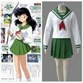 InuYasha Anime Kagome Higurashi Winter School Uniform Halloween Cosplay Costume