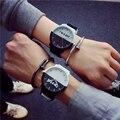 Corea mujeres de La Manera reloj masculino relogio del reloj de Los Hombres Dial Grande chica chico Estudiante de Silicona Relojes reloj hombre relojes